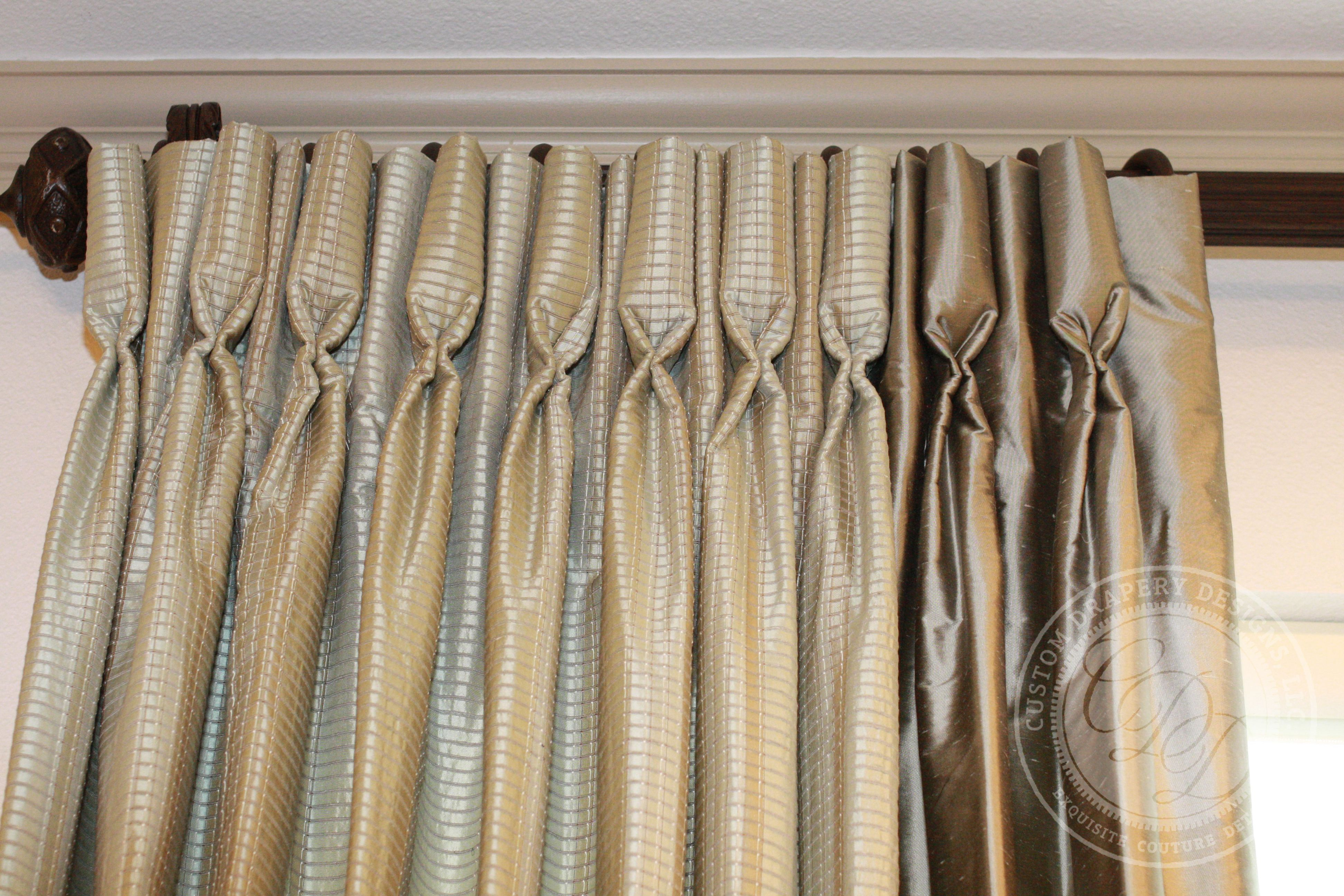 Custom Drapery Designs, LLC. - Trim, Hardware,  for Goblet Curtains  45jwn