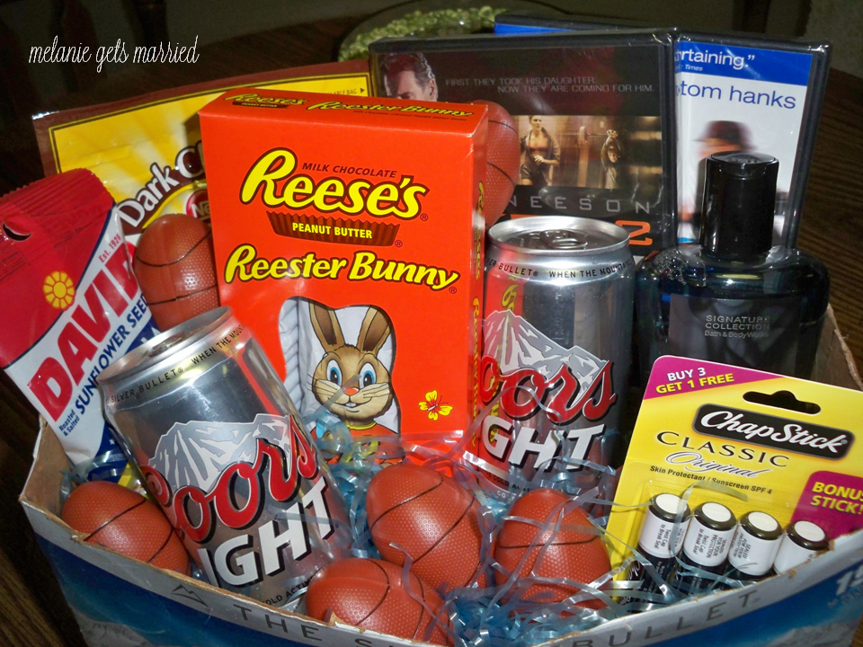 Easter basket mens edition gift giving pinterest easter basket mens edition negle Images
