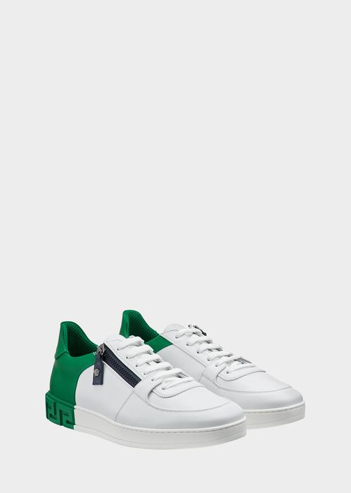 Alexander McQueenEros-Greek Key sneakers De La France La Vente En Ligne 100% Garantie De Vente En Ligne PQYEXhL