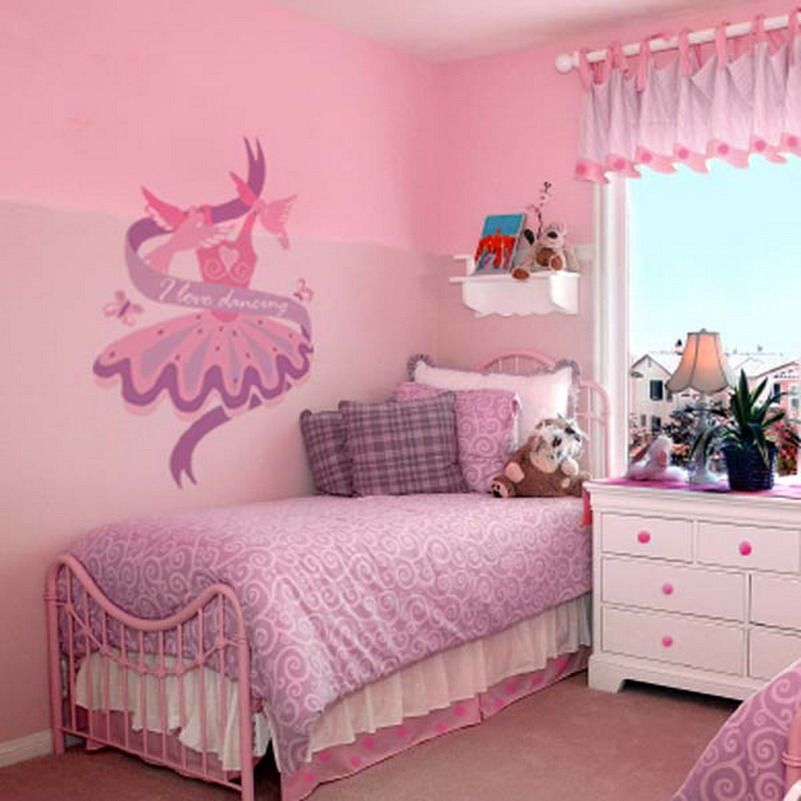 30 inspirational girls pink bedroom ideas girls pink for Girl small bedroom ideas