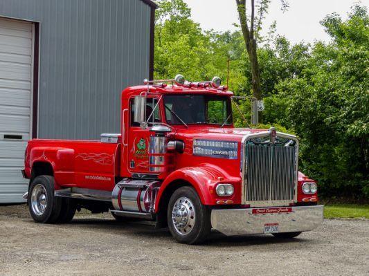 Crock Custom Trucks\' Kenworth Pickup   Old school cool   Pinterest ...