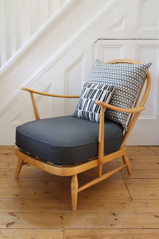 Vintage Ercol easy chair | New house | Pinterest | Mecedora, Butacas ...