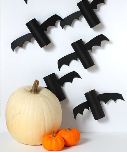10 Fun Halloween Crafts for Kids Toilets, Real simple and House - halloween decorations to make at home for kids