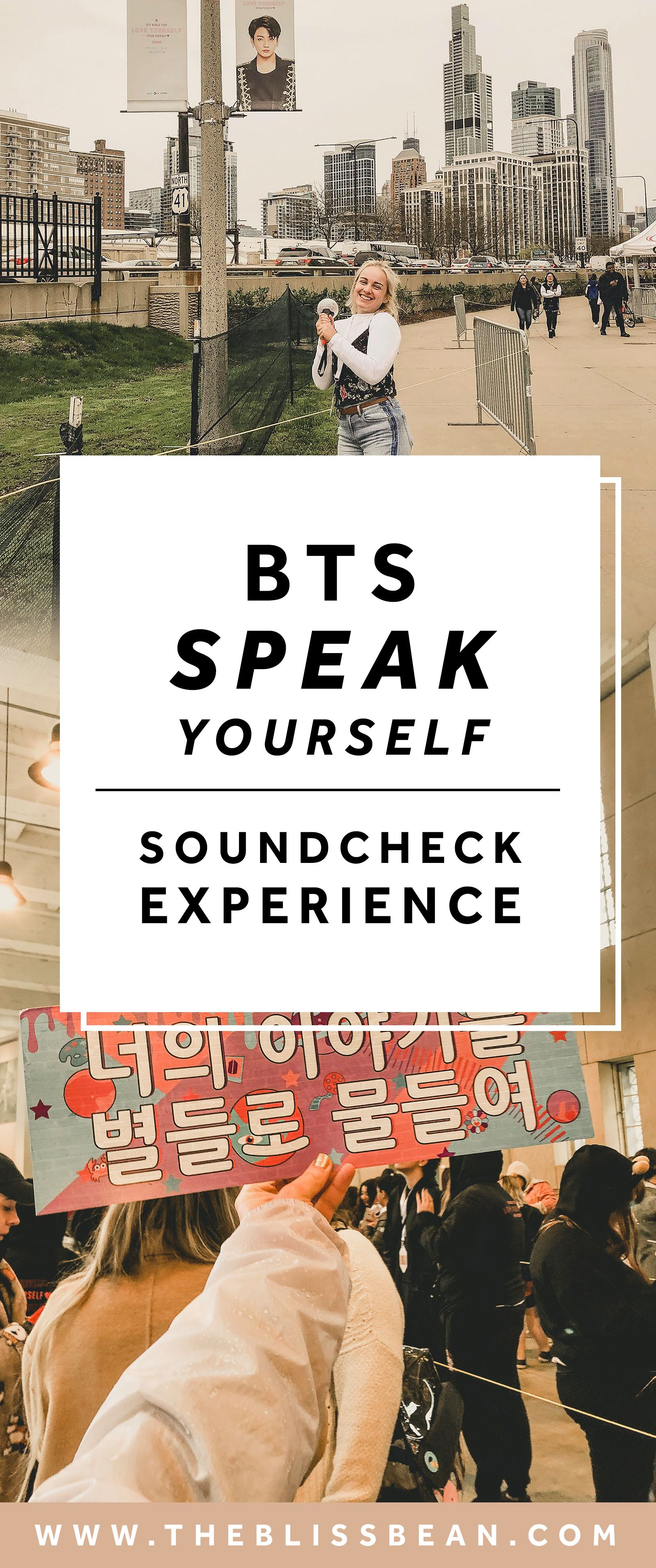 BTS concert experience | Love yourself Speak Yourself tour