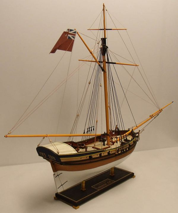 Forums / Completed Models / Sloop Mediator - 1745 - Model Ship Builder
