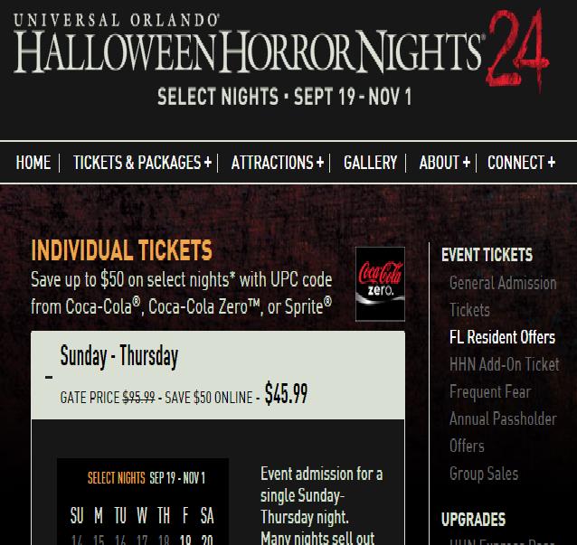 17 melhores ideias sobre halloween horror nights tickets no pinterest noites de terror do dia das bruxas orlando e universal orlando - How Much Are The Halloween Horror Night Tickets