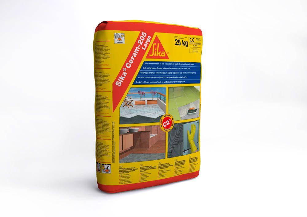 Sika ceram large adesivo in polvere per piastrelle ceramiche