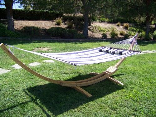 hammock double wooden and padded me stand person ft quilted with lb myhit arc beige