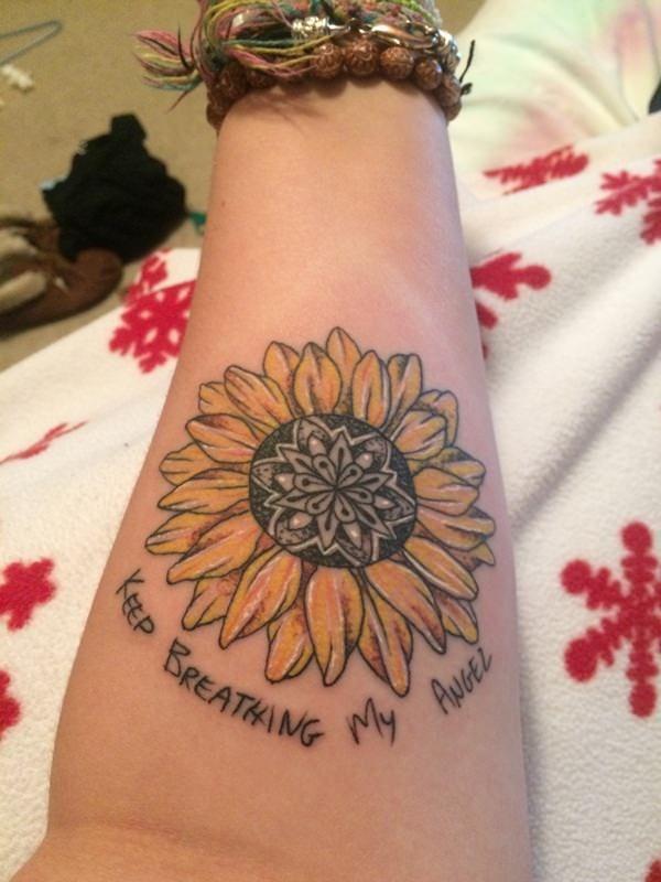 Epingle Par Tattoo Egrafla Sur Tatouage Fleur De Tournesol