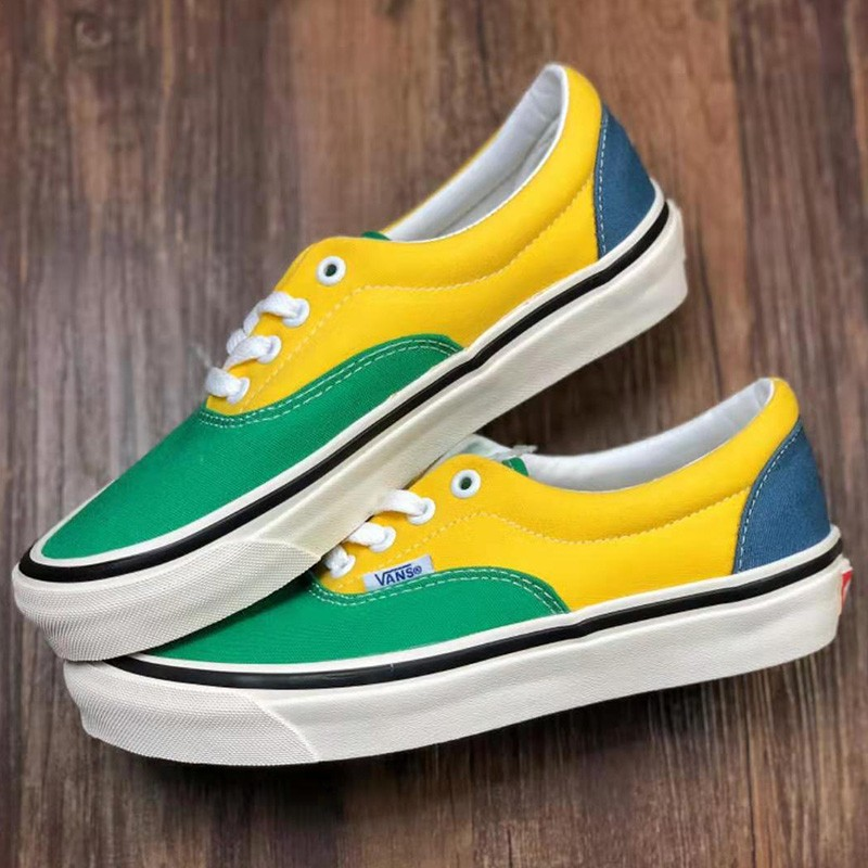 Vans Vault Aut Era Shoes Yellow/Green