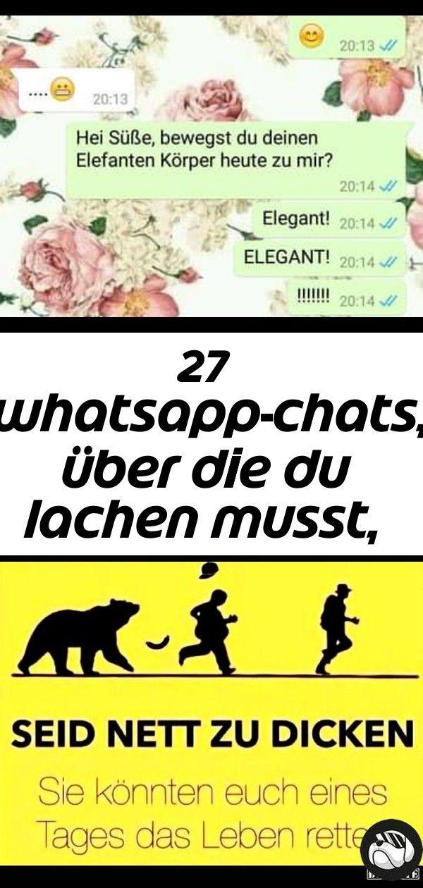 27 Whatsapp Chats Uber Die Du Lachen Musst Auch Wenn Du Nicht