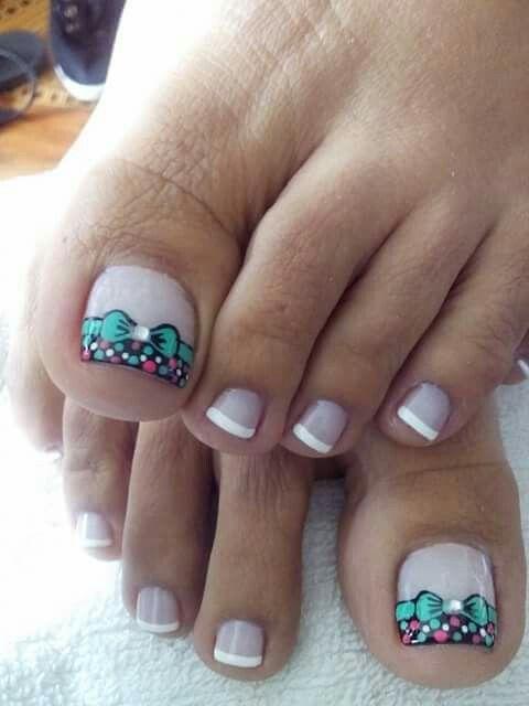 Pin de Marc en ##pedicura   Diseños de uñas pies, Uñas de ...