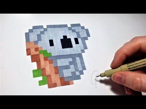 Pixel Art Licorne Kawaii Youtube Perler Pinterest Pixel
