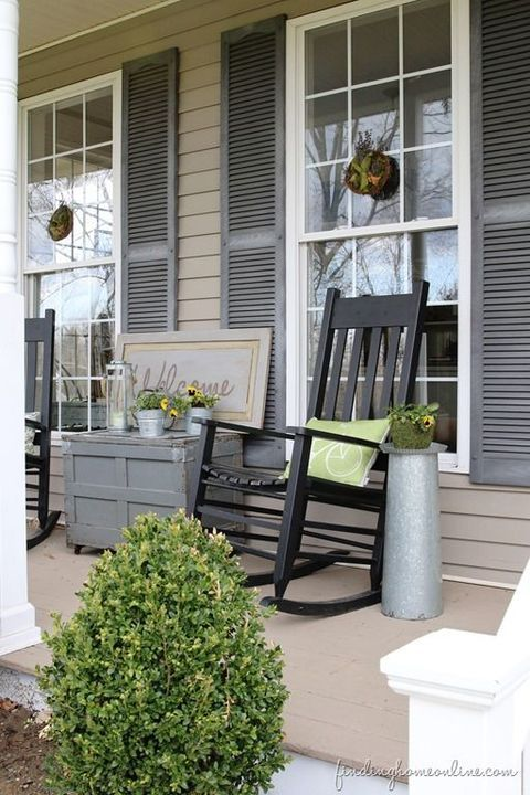 Pin de Jenny Kline en Yard, Porch,  Garden Pinterest Casas