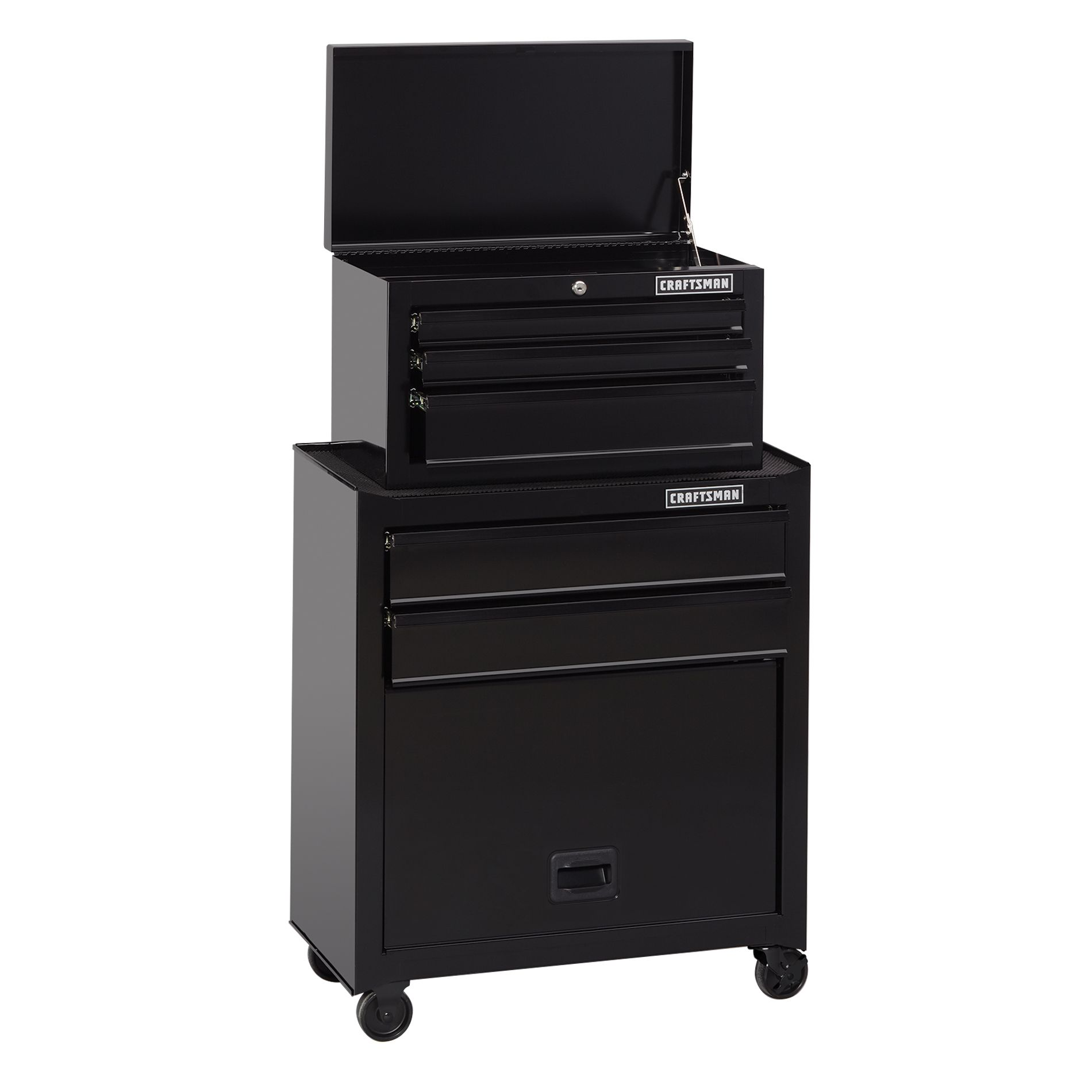 Craftsman 26 5 Drawer Standard Duty Tool Chest Cabinet Black