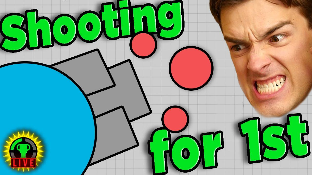 GTLive Bullets and Shapes and More Bullets! Diep.io