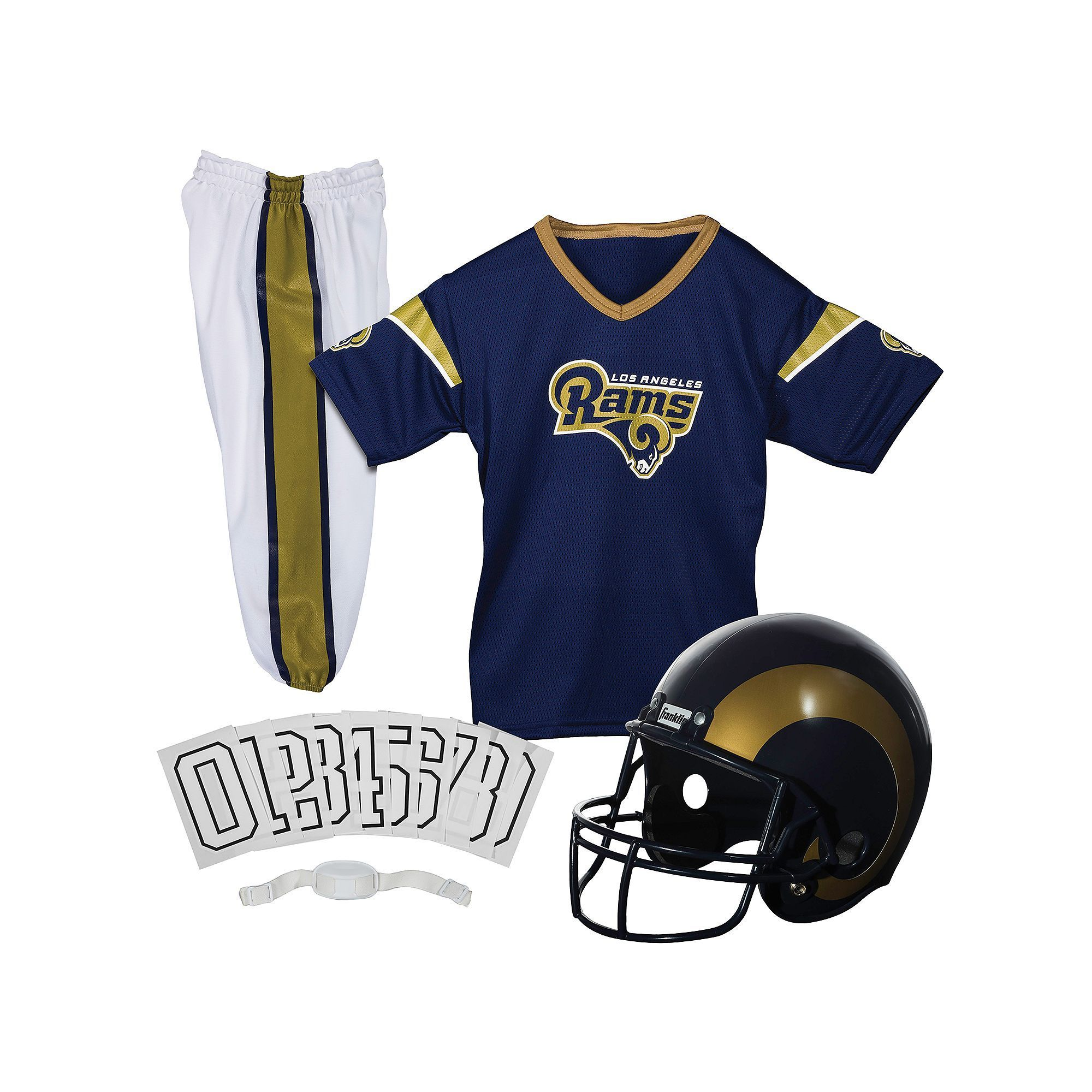 Youth Franklin Los Angeles Rams Football Uniform Set, Kids