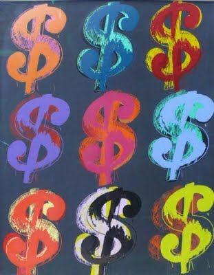 Andy Warhol Dollar Sign