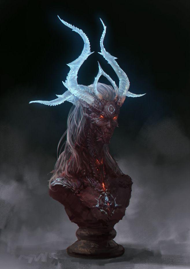 怪物 阳叔采集到原画 304图 花瓣游戏 Fantasy Monster Concept Art Characters Art