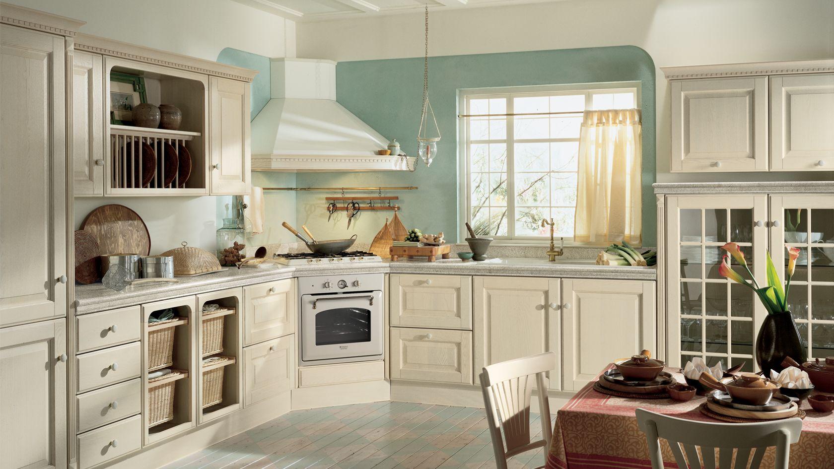 Cucina in rovere Baltimora   Sito ufficiale Scavolini   Kitchens ...