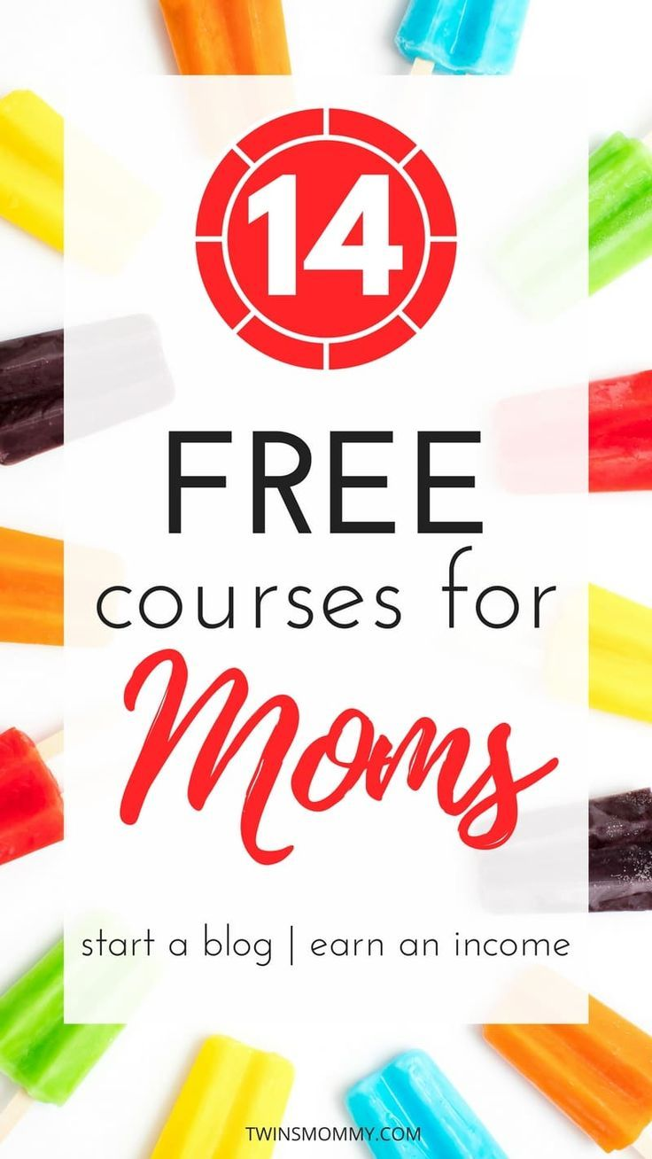 14 Free Courses to Earn More Income as a Stay-at-Home Mom | Blogging ...