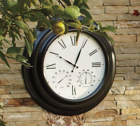 Oversized Bronze Outdoor Clock 199 00
