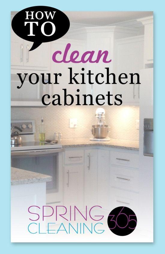 Die Elegante Tief Reinigen Küchenschränke für Ermutigen Es gibt ...