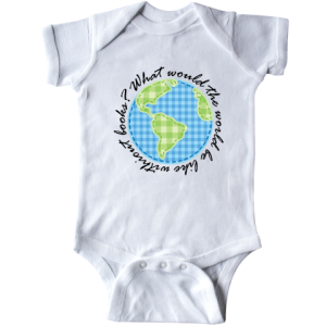 Personalized Reading World Without Books Infant Creeper | INKtastic