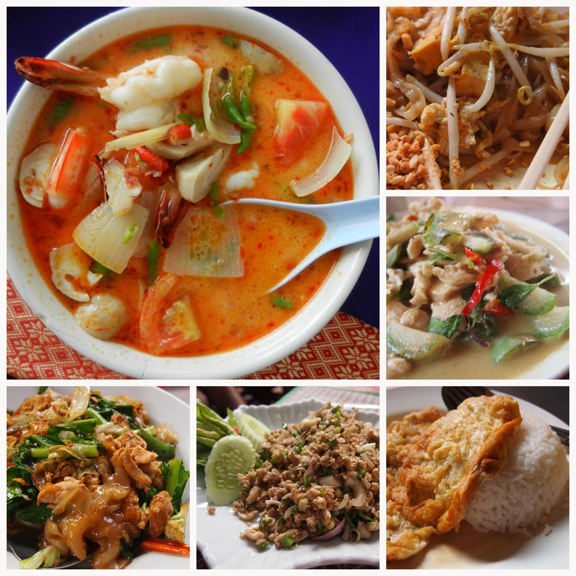 Thai Food For Beginners World Travel Family Thai Recipes Food Best Thai Dishes