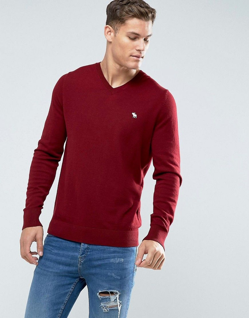 f0f3356ea76 Get this Abercrombie & Fitch's v-neck pullover now! Click for more ...