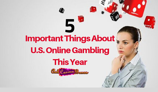 5 Important Things About U.S. Online Gambling This Year