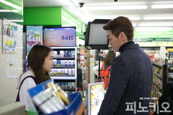 박신혜-김영광의 달달한 비하인드 컷 대방출~! : 피노키오 : SBS