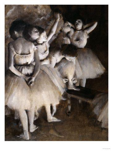 Ballet Rehearsal, c.1874 Giclee Print by Edgar Degas en 2020 | Tableaux de degas, Art ballet et ...