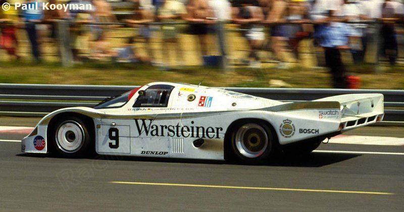 Walter Brun Leopold Von Bayern Bob Akin Porsche 956b Brun Motorsport Gmbh Lii Grand Prix D Endurance L Porsche Motorsport Porsche Classic Racing Cars