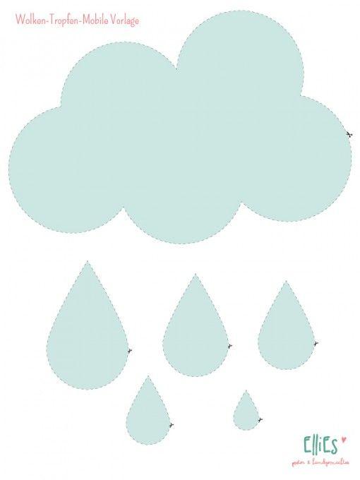 Wolke Malvorlage Kostenlos Wolken Ausmalbilder 1