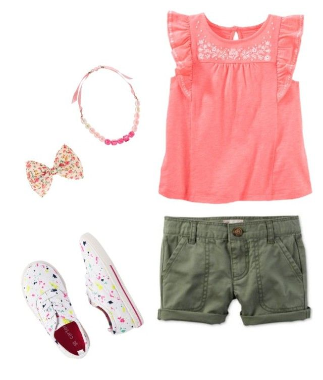 """""""💕"""" by nanalii on Polyvore featuring moda, Carter's y claire's"""