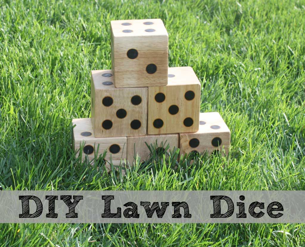 Diy Wooden Lawn Dice Make Your Own Yard Perfect For Next Back Barbeque Tailgate Party Beach Day Or Other Outdoor Gathering Play