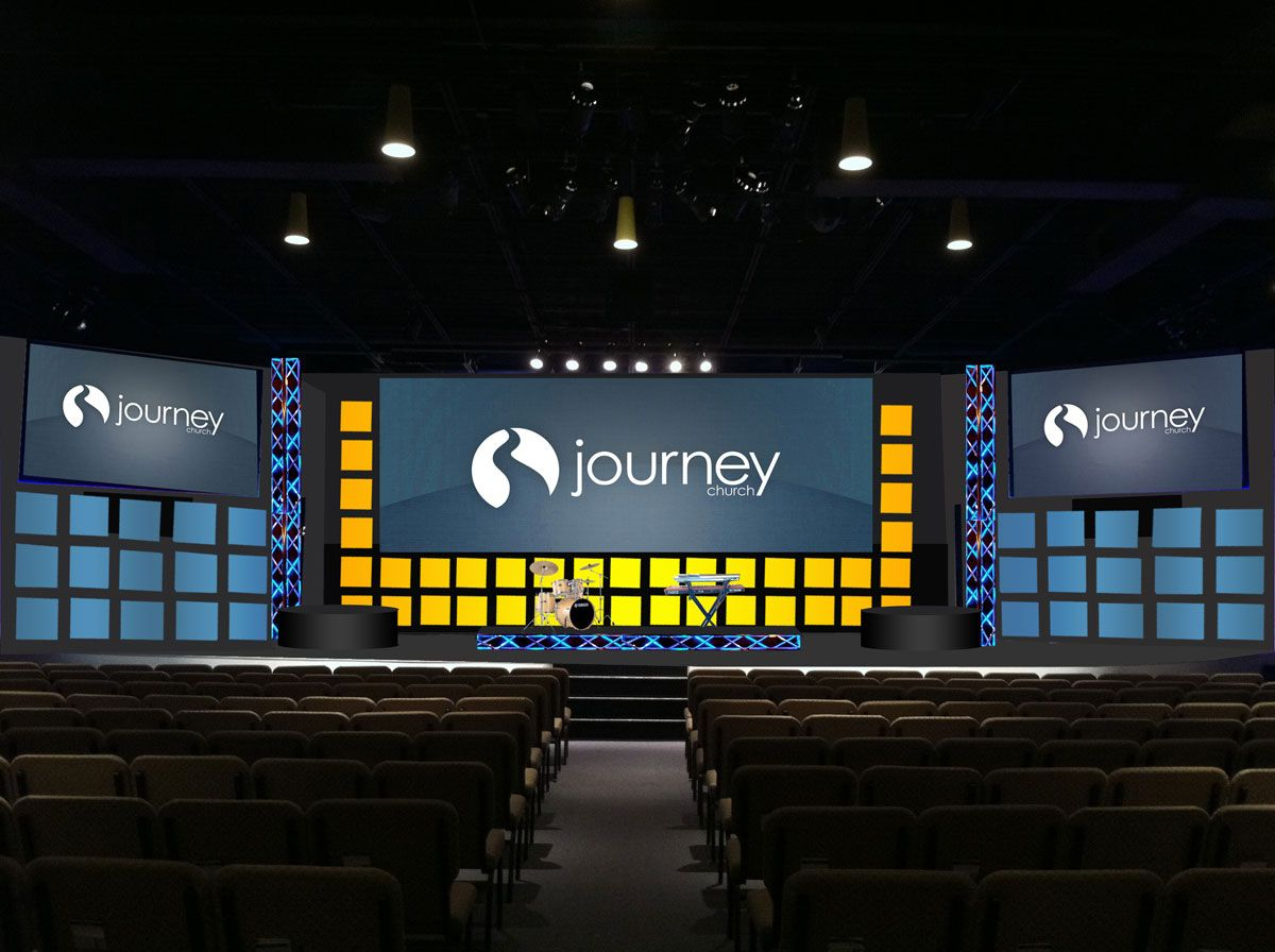 Small Church Stage Design Ideas big stage on a small stage True Grid Church Stage Design Ideas