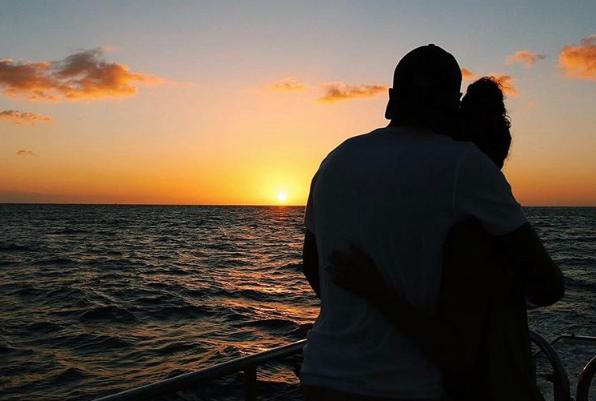 Honeymooners- Kaelin and Kyrah Edwards.