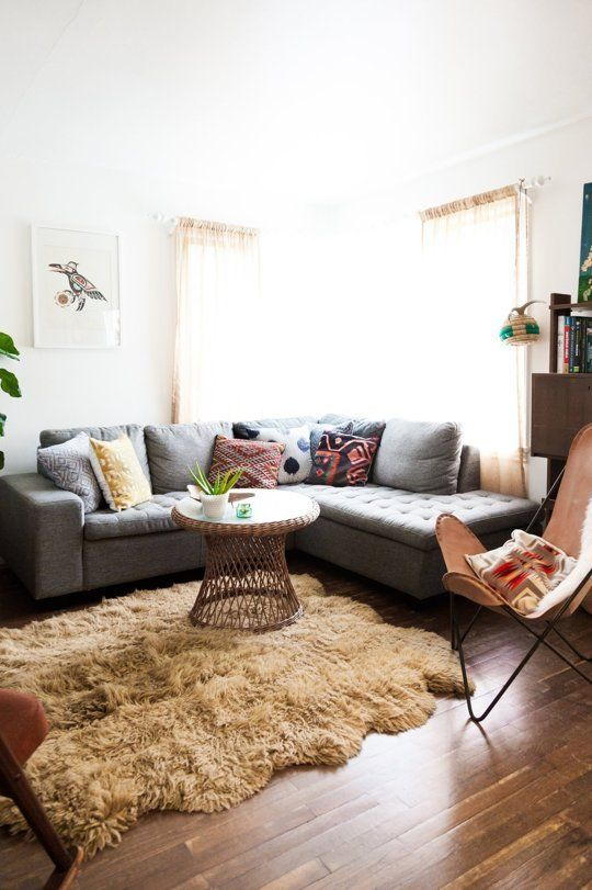 Don't Be a Square: Living Rooms Expertly Rocking R