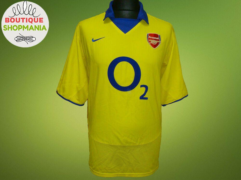 belleza gran selección de gran variedad de estilos NIKE ARSENAL Away 2003-2004 L FOOTBALL SHIRT Jersey Soccer ...