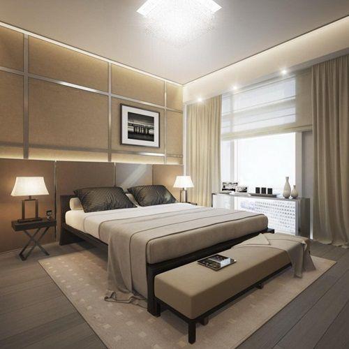 Tips On Selecting The Best Bedroom Curtains Master Bedroom Lighting Modern Bedroom Design Modern Bedroom