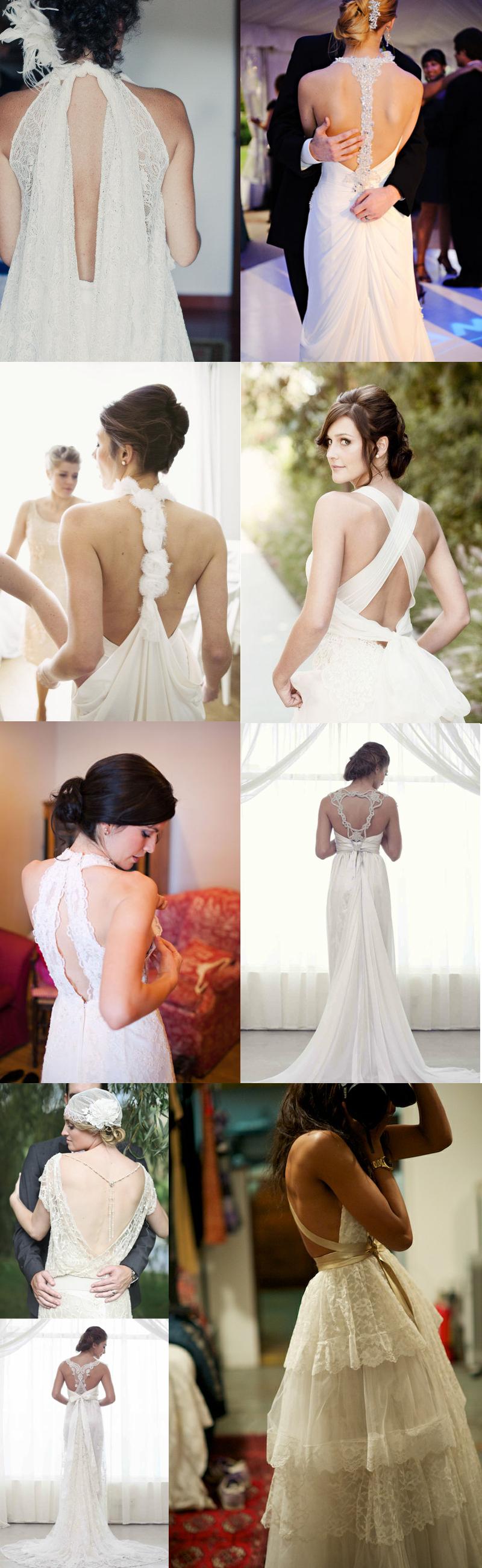 Wedding Trends: The Backless Wedding Dress