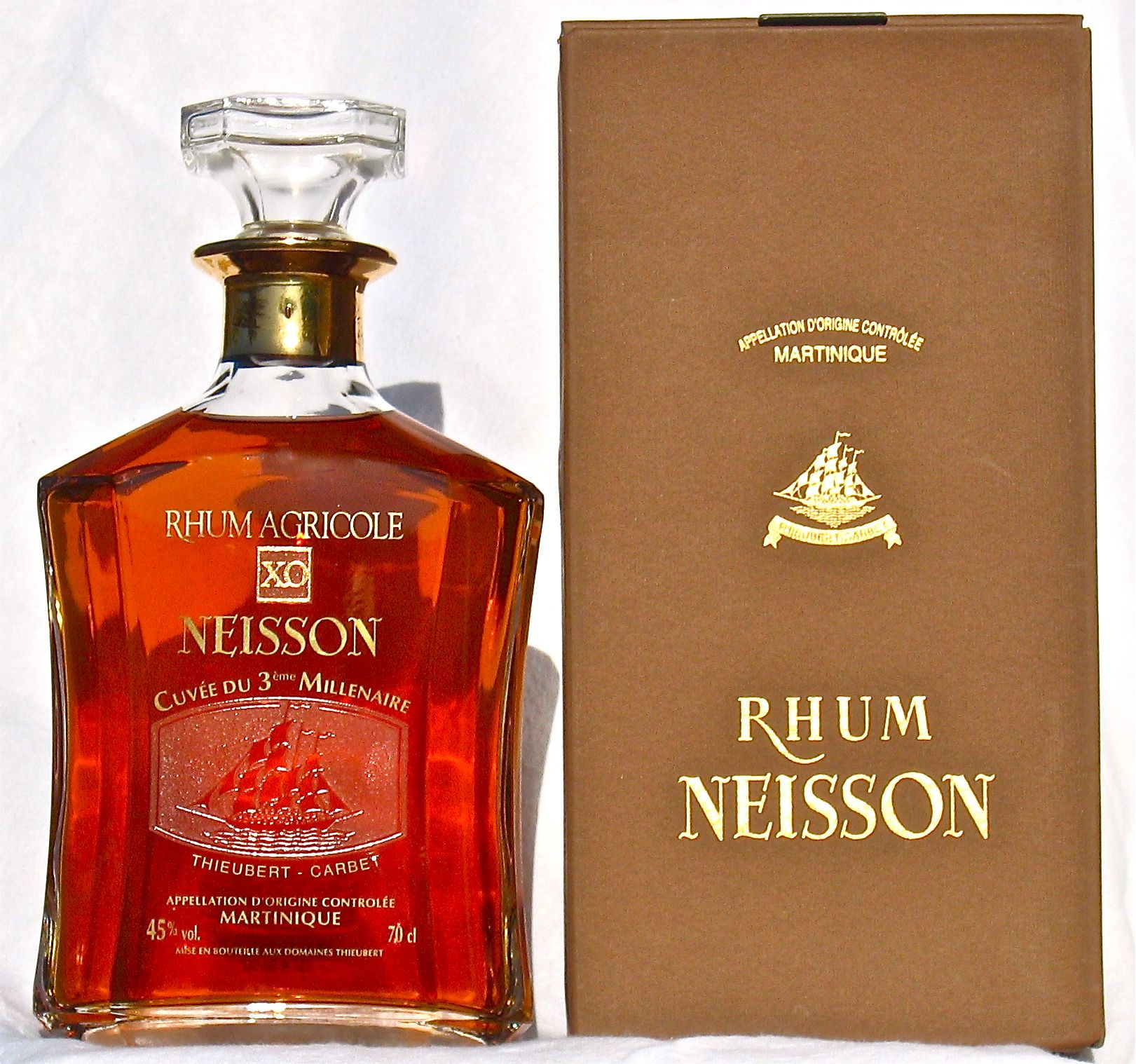 Plantation Barbados Extra Old 20th Anniversary Rum Rhum Neisson Martinique Rum Agricole Rum