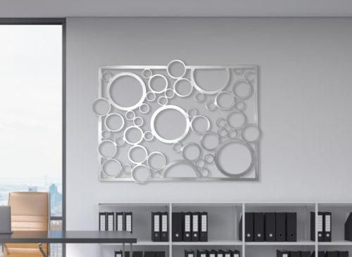 Abstract Stainless Steel Wall Art Sculpture Decor Circles Stainless Steel Wall Art Steel Wall Art Metal Wall Art Panels
