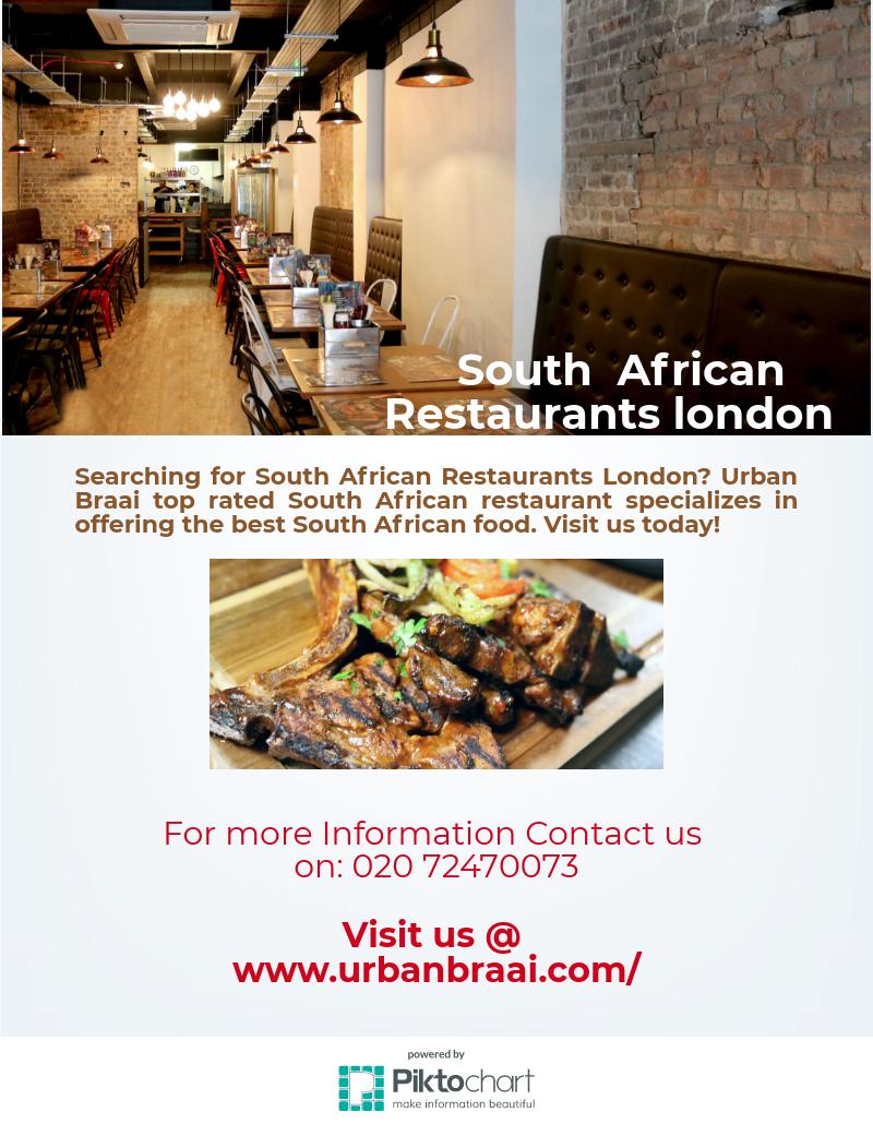 Best african restaurants london