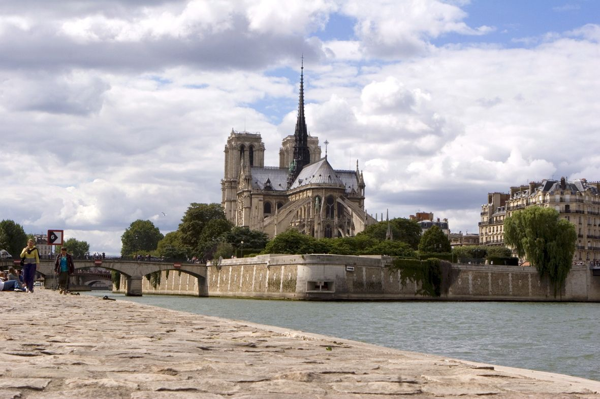 Notre-Dame was constructed between 1163 and 1334, and the amount of time and money spent on it reflected the city's growing prestige. The west front remains a high...