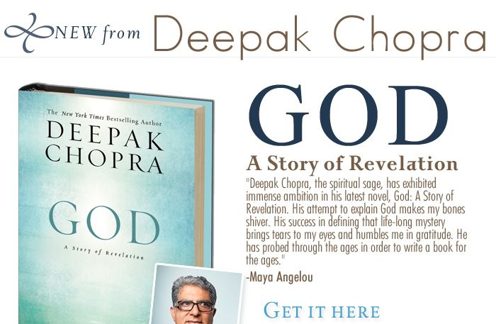 Deepak chopra god a story of revelation