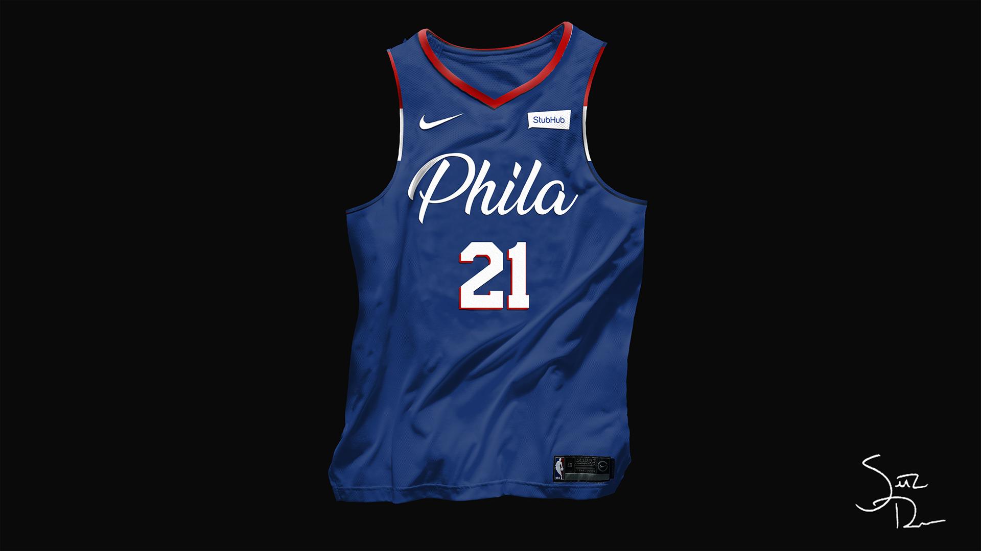 76ers Nike x NBA Concept on Behance Bola basket