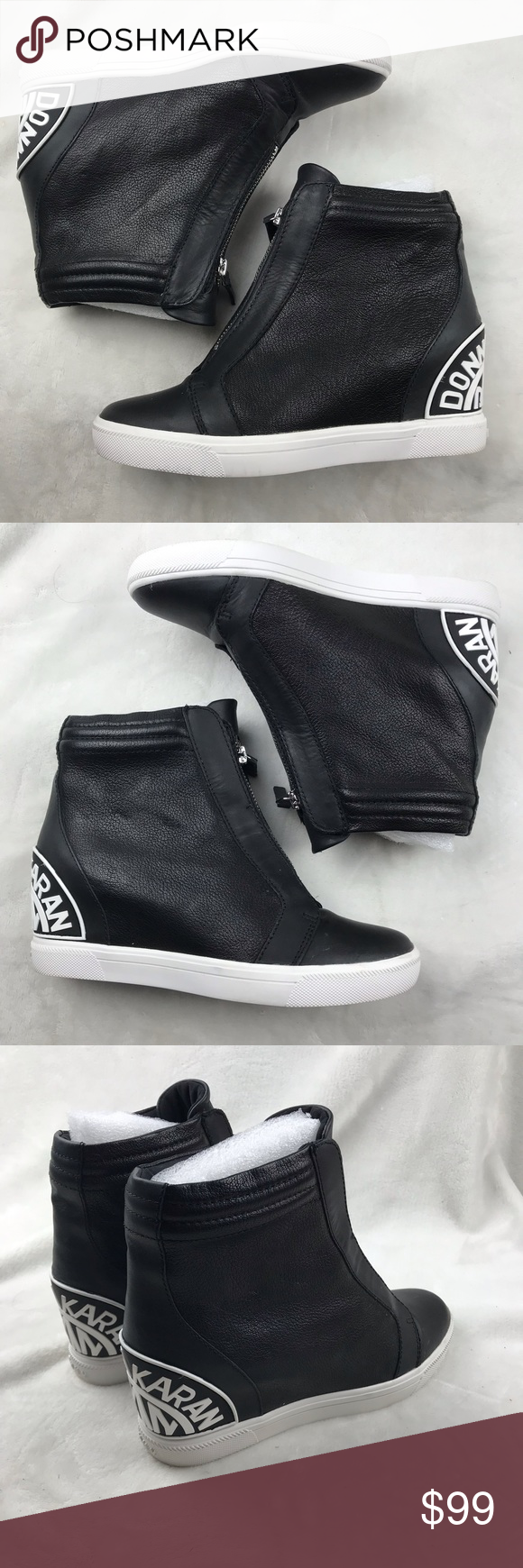 7b78d0c9502f DKNY Connie Slip On Booties Size 5.5M Zip up a street-savvy look in ...